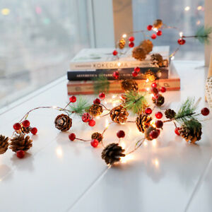 20LED-Christmas-Lights-String-Fairy-Copper-Wire-Battery-Powered-Waterproof-Decor