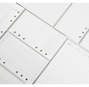 Refill-Einlagen-fuer-6-Ringe-Ringbuch-A5-A6-100g-m-Cremepapier-45-Blaetter