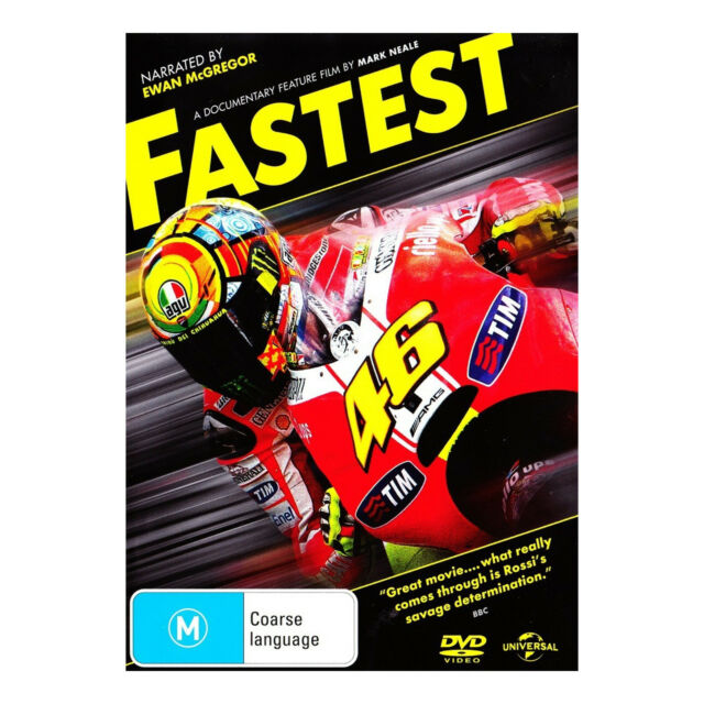Fastest DVD Brand New Region 4 Aust. - MotoGP, Rossi, Lorenzo, Casey Stoner