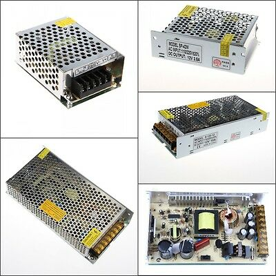 5A 10A 30A 12V AC/DC Voltage Converter Regulated Switch Power Supply for LED NEW
