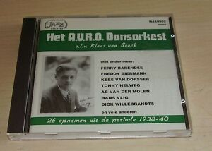 HET-AVRO-DANSORKEST-Klaas-van-Beeck-CD-1938-039-40-1995-Dutch-Jazz-Archive-Mono