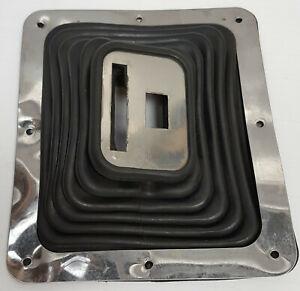 Hurst-Super-Shifter-3-III-114-0010-Rubber-floor-Boot-amp-Plate-7-3-4-034-x-8-3-4-034