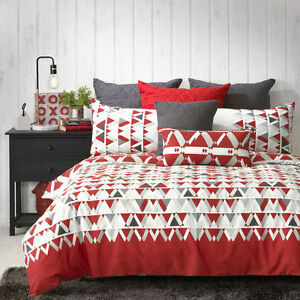 Bianca-Floyd-Red-Doona-Duvet-Quilt-Cover-Set-in-All-Sizes