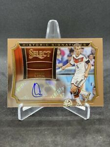 Philipp Lahm Autograph Soccer Card Germany Historic Signatures Select /39