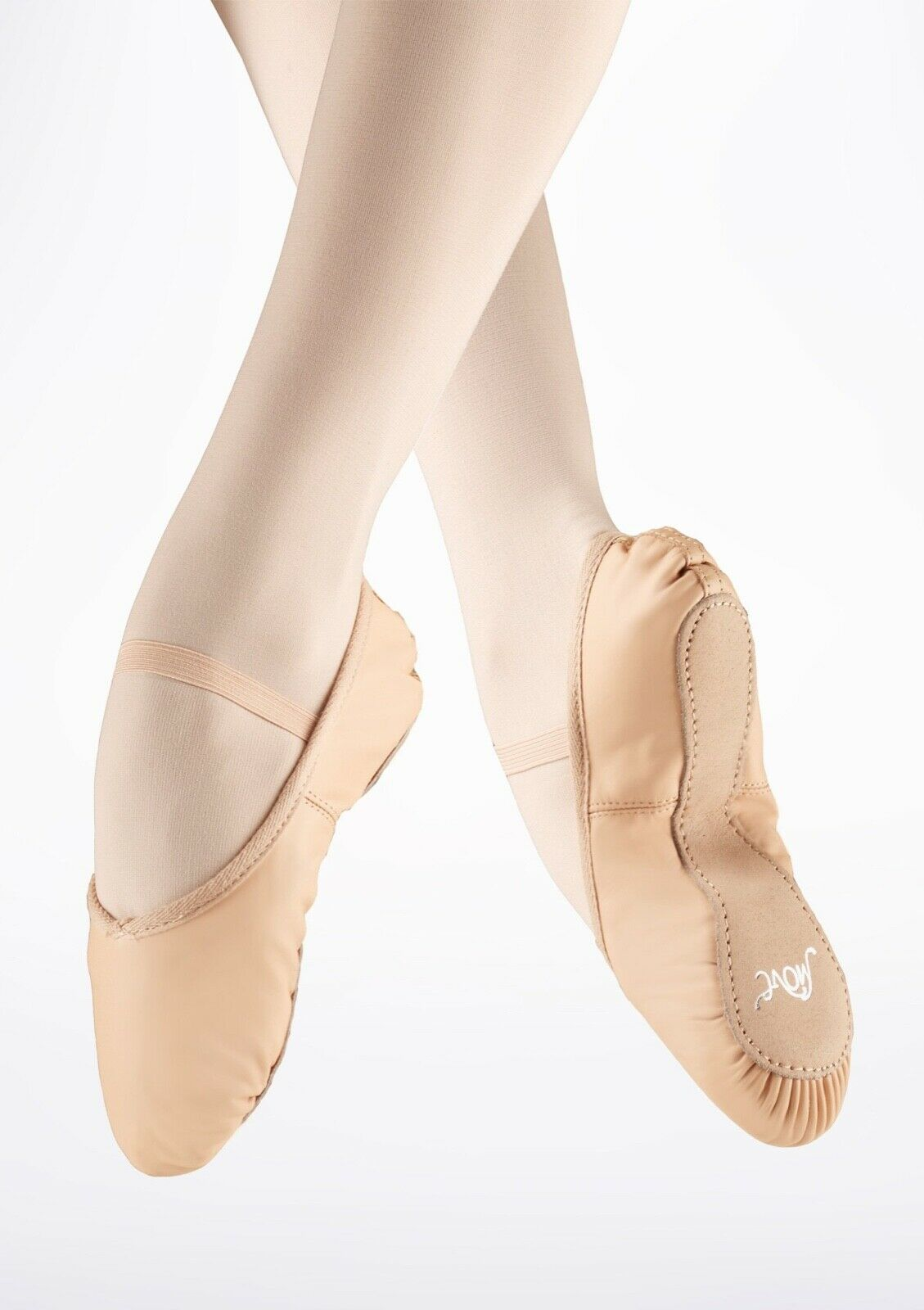 Ballet Full Sole Leather Ballet Shoe Pink Move Dancewear