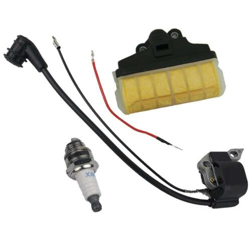 Ignition Coil Air Filter Spark Plug Kit STIHL 021 023 025 MS210 MS230 MS250