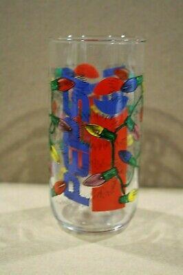 1986 Pepsi Merry Christmas 1987 Happy New Year Shot Glass