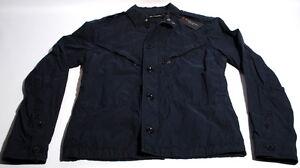 Black Label Ralph Lauren Military Pararescue Navy Jacket Trim L NWT's $695 D3C
