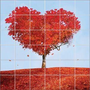 Das Bild Wird Geladen Aufkleber Fliesen Wand Deko Baum Aus Co
