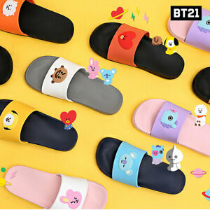 BTS-BT21-Official-Authentic-Goods-Silicone-Slippers-220-250mm-7Characters