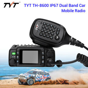 TH-8600-Portable-Waterproof-IP67-VHF-UHF-Car-Mobile-Radio-Ham-2-Way-Transceiver