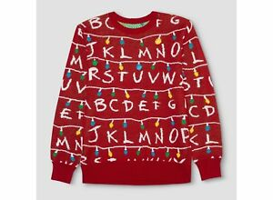 image is loading stranger things target exclusive light up ugly christmas - Target Christmas Sweater