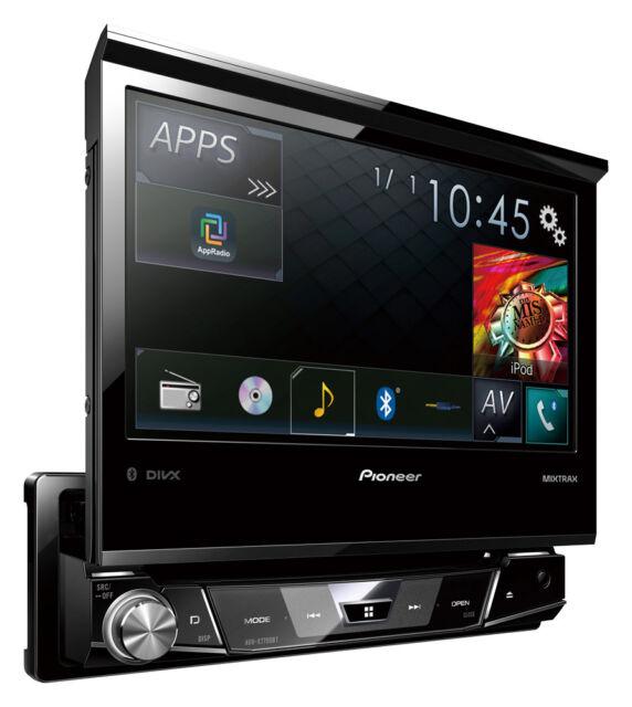 Pioneer AVH-X7700BT  DVD Bluetooth AppRadio Mode Autoradio DIVX Mixtrax Neu