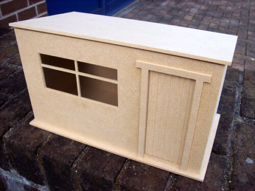 1:12th Scale Large Garden Shed