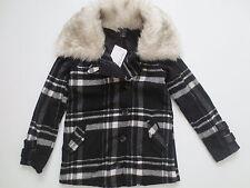 Oakley Women Abudant Black White Plaid Wool Jacket  - 511460 - Size XS - NWT