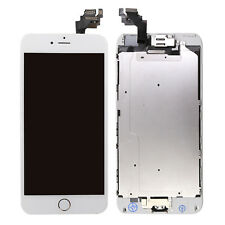 brand new 8e7cd eacb0 for iPhone 6 Plus White LCD Touch Screen With Camera Home Button Replacement