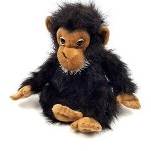 Aurora-World-Plush-Monkey-Nature-Babies-12-034-Chimp-Chimpanzee-Dark-Brown