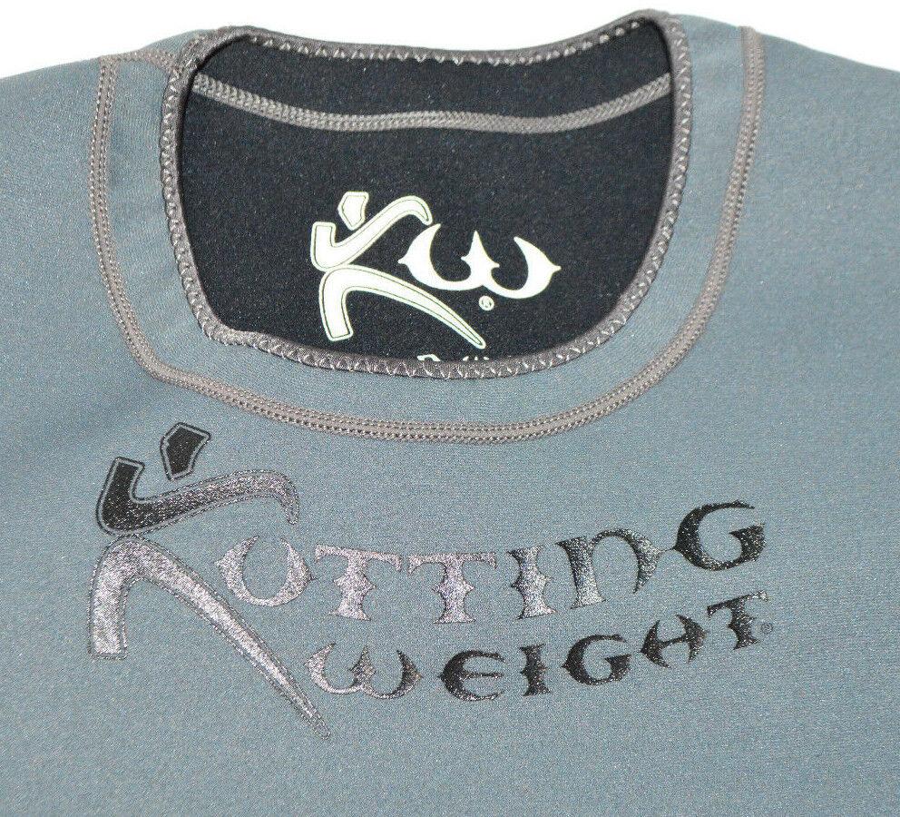 Kutting weight Sauna Suit  Pérdida de peso de neopreno de mangas largas Camisa De Entrenamiento gris XL  ahorra hasta un 30-50% de descuento
