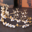 Luxury-Rhinestone-Crystal-Pearl-Flower-Tiara-Crown-Bridal-Headband-Hair-Band thumbnail 62