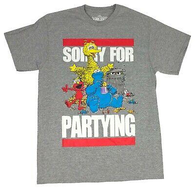 New Sesame Street Big Photo Oscar Mens T-Shirt