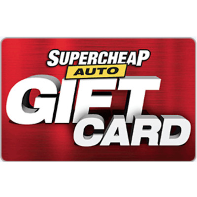 Supercheap Auto Digital Gift Card $20 $50 or $100 - Fast Email Delivery