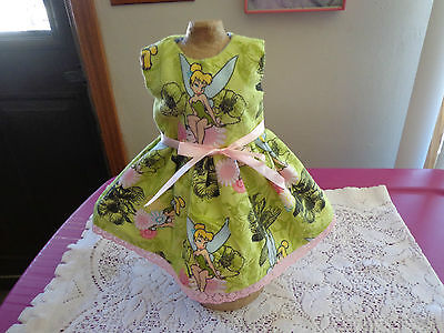 doll dress for 18 inch american girl christmas red green candy on white 163