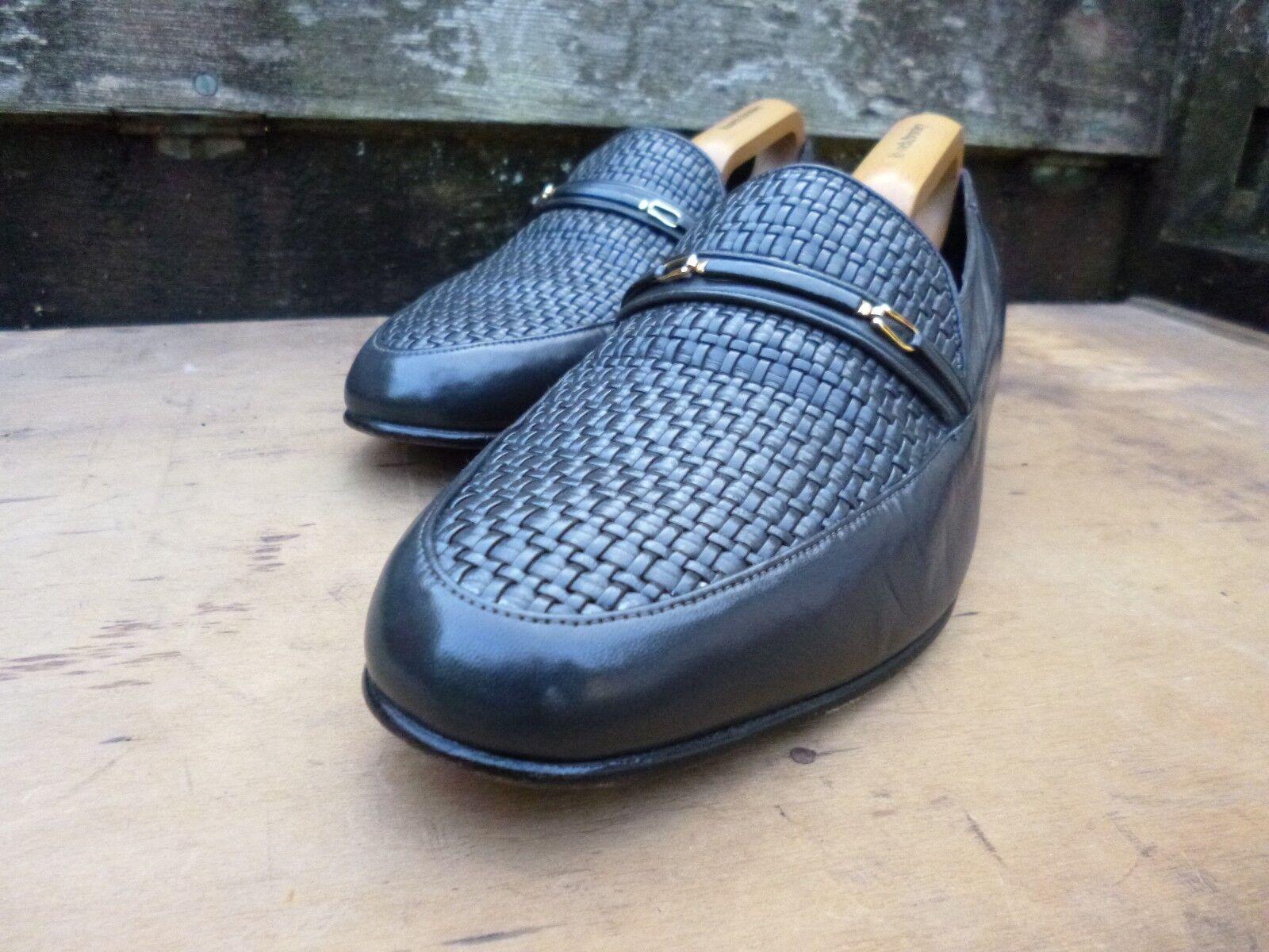CROCKETT & Jones Mocassini -- Grigio / Grigio-indossato una volta Scarpe classiche da uomo