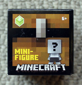 Minecraft Chest Series 3 STEVE IN IRON ARMOR Mystery Figure New 2017