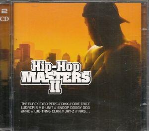 2-CD-COMPIL-39-TITRES-HIP-HOP-MASTERS-II-DMX-LUDACRIS-DOG-2PAC-WU-TANG-CLAN