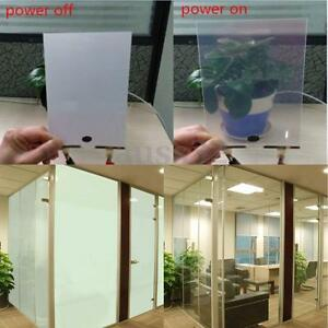 8''x12'' 220V  5W Smart Film Starter Electrochromic PDLC Switchable Glass Film