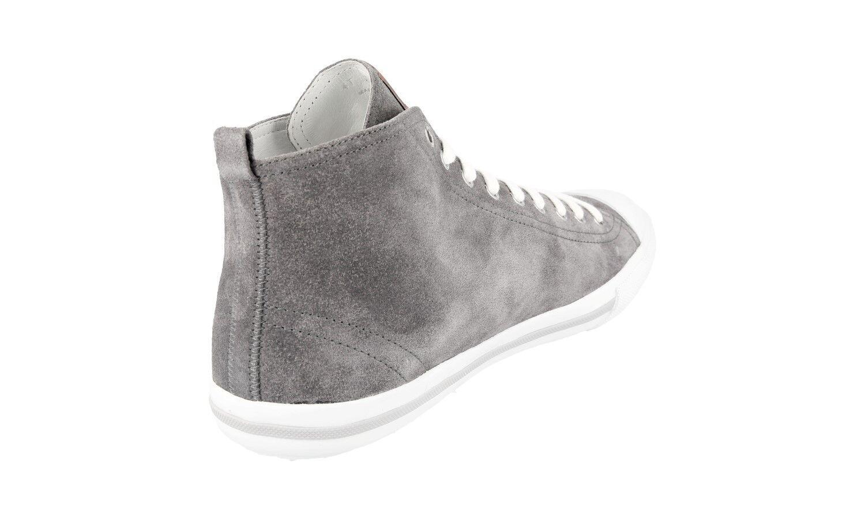 Chaussures 5 Luxueux Nouveaux 4t2583 Gris Prada 6 4qvYr4Pwxn