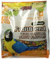 Zupreem Fruit Blend Diet For Large Birds, 3.5-pound , New, Free Shipping