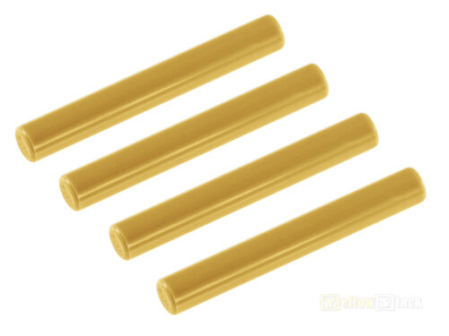 Baukästen & Konstruktion 4x LEGO® 87994 Stab Stange 3L perlgold NEU pearl gold