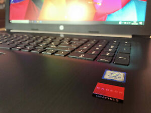 Portable HP 17 Pouces Intel Core I5 8Go ram SSD Radeon