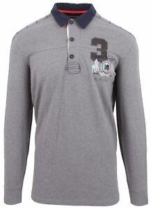 L Coton Cuir Van Sweatshirt Gris Gris Shirt Polo Santen Taille nqqPYXRf