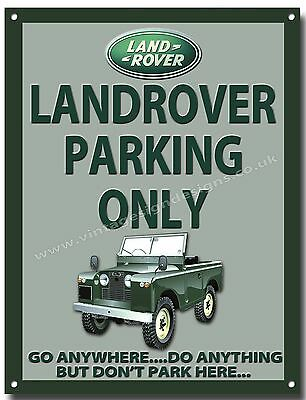 LANDROVER DEFENDER,NEVER NEVER GIVE UP YOUR.. FINISH METAL SIGN.4X4  A3