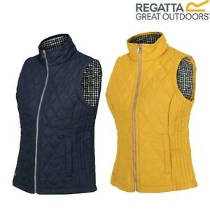 Regatta Womens Charna Insulated Diamond Quilted Bodywarmer Vented Gilet