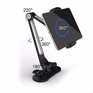 universal handy tablet halterung saugnapf desktop st nder. Black Bedroom Furniture Sets. Home Design Ideas