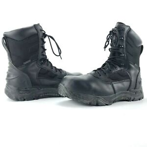 32dd259136a Details about THOROGOOD The Deuce 804-6191 Black Leather Composite Toe  Tactical Boots Men 11.5
