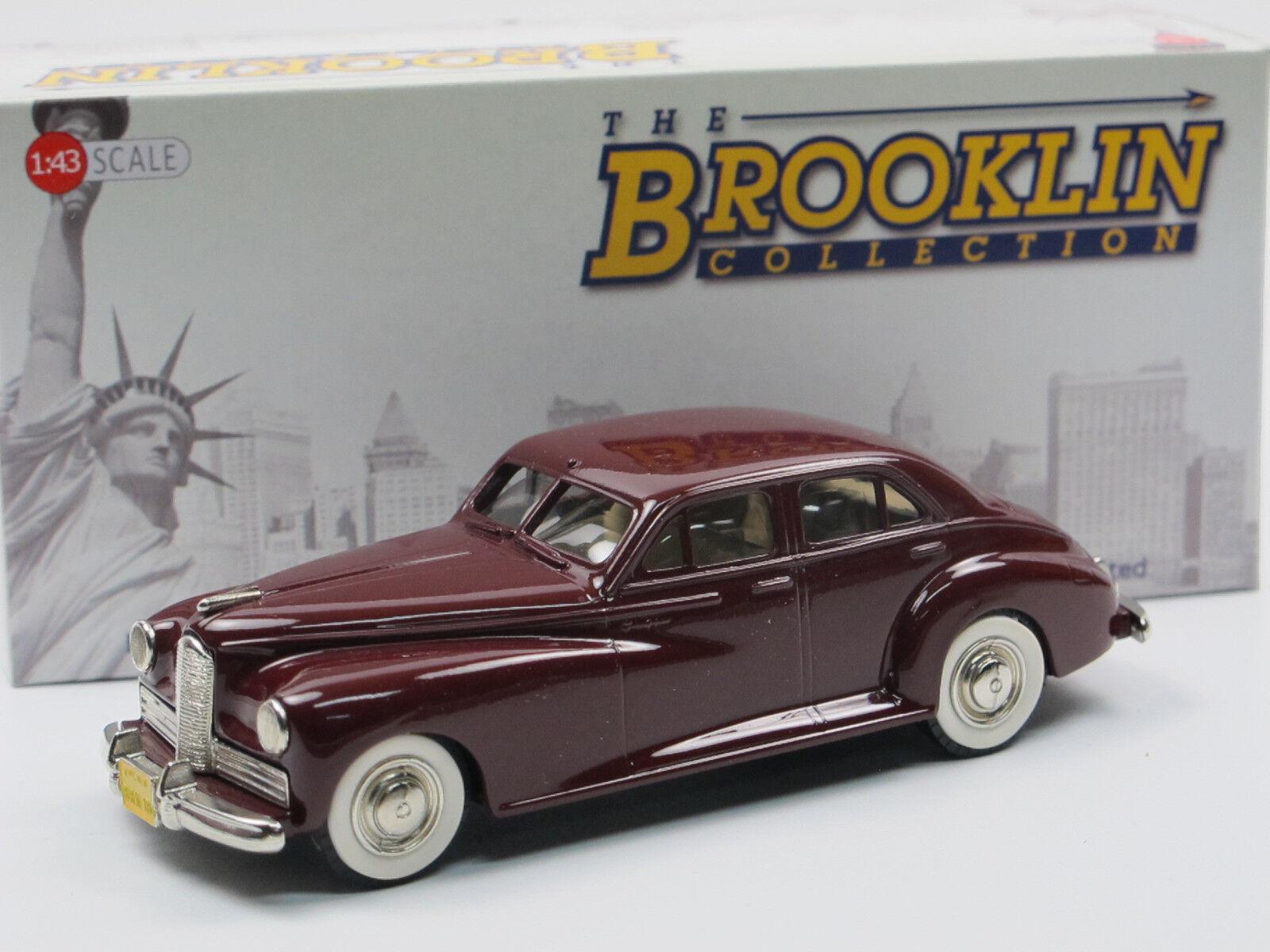 Brooklin models BRK 18 1941 Packard Clipper Maroon 1 43 bianca metal Model