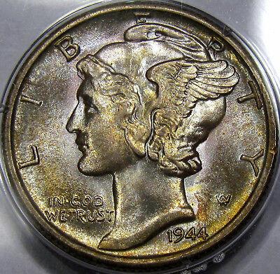 1944-S Mercury Dime /</> Choice Gem BU /</>