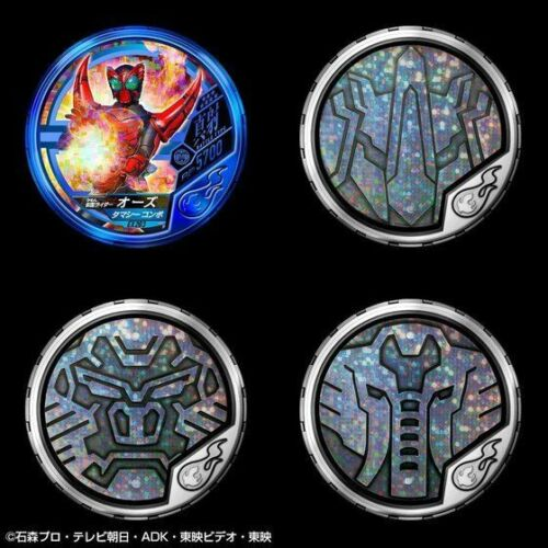 X from Japan NEW Bandai Masked Rider Buttoba Soul Official Medal Holder OOO