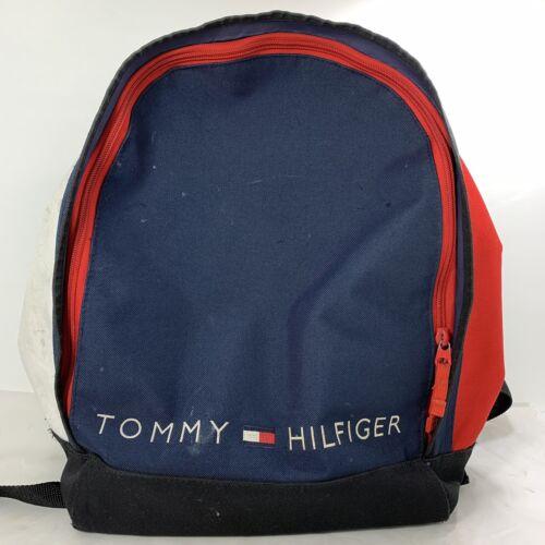 Vintage 90s Tommy Hilfiger Canvas Backpack Colorbl