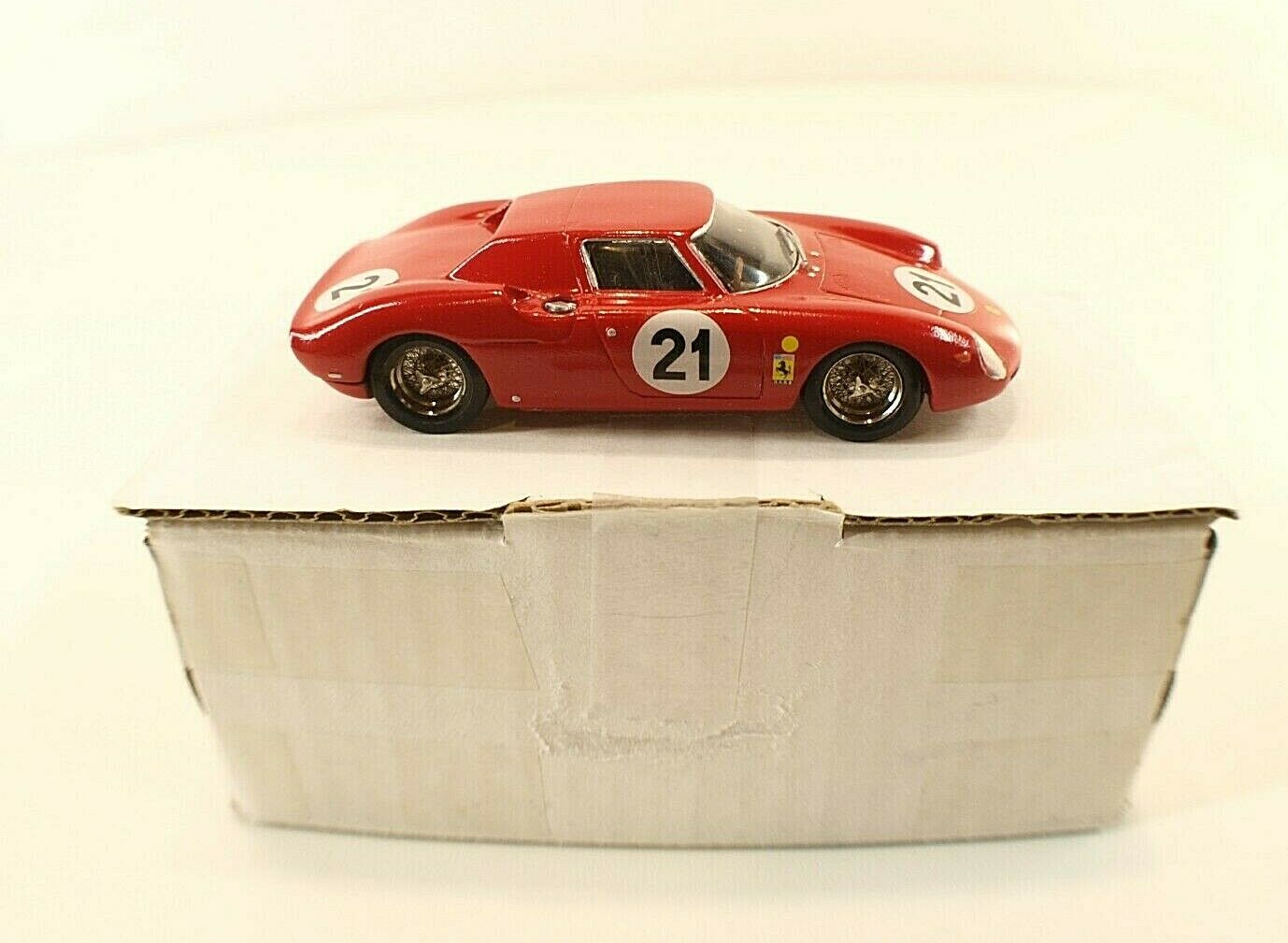 Bam ferrari 250 le mans 1965 nº 21 metal kit mounted magnificent 1 43