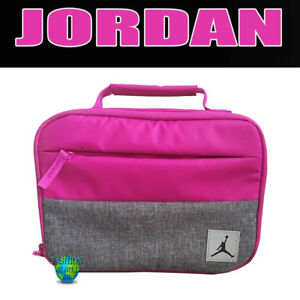 48f58f4d1bfae4 NIKE AIR JORDAN PIVOT INSULATED LUNCH BOX TOTE 9A0085 FUSCHIA BLAST ...