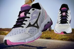 Chaussures-De-Running-Jogging-De-Course-Sport-Mizuno-Wave-Connect-Femme