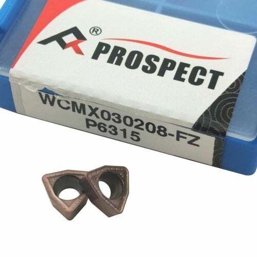 4pc WCMX030208-FN BP1125 insert WC-17-4D-C20 17mm U drill indexable drill