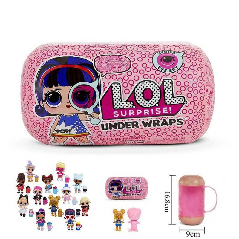 LOL Sorpresa Eye Spy Series Under Wraps Capsule Big Sister Doll NAVI VELOCE IT 3