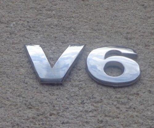Volkswagen V6 trunk emblem letters badge decal logo Passat Jetta OEM Genuine
