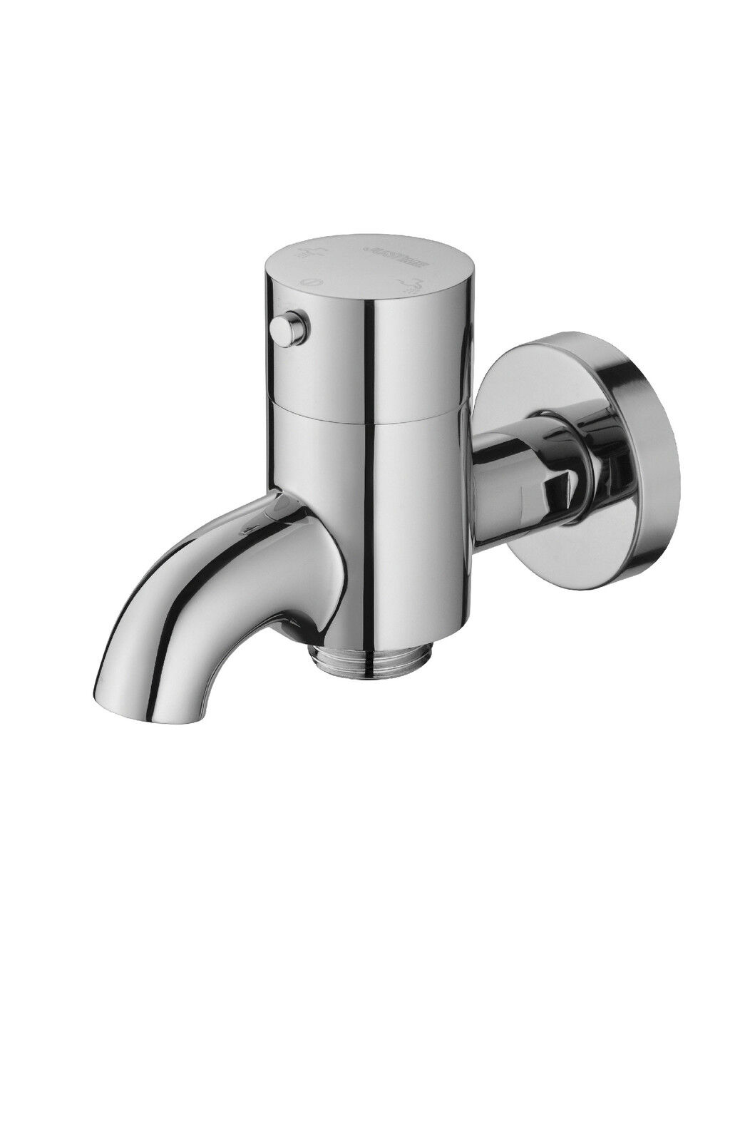 Bib Tap 2 Way Function With Quick-Action Coupling For Connecting Garden Hose